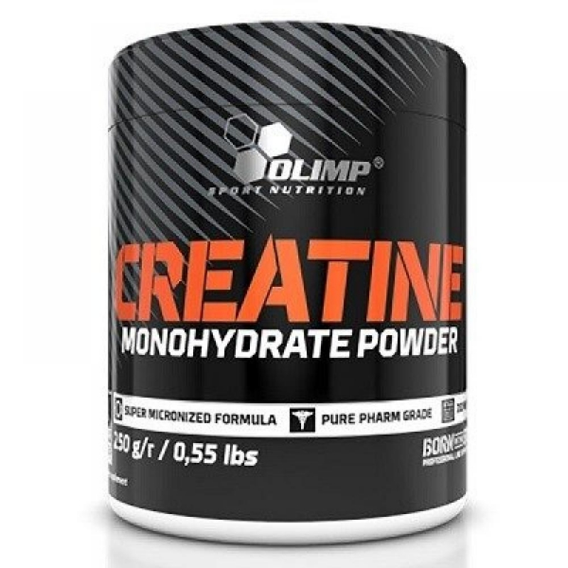 Olimp Creatine Monohydrate Powder Super Micronized 250 Gr